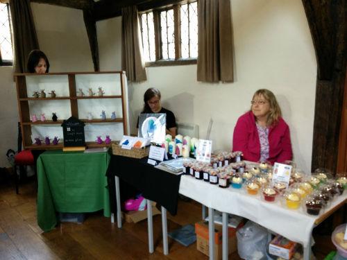Gemma's stall with mum, Tina-w500-h500