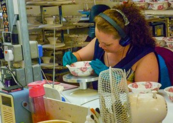Emma Bridgewater -girl painting bowl