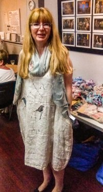 Fashion Show -Fiona - linen dress