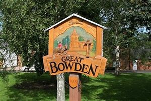 Great Bowden sign