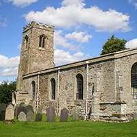 Wistan church Wistow