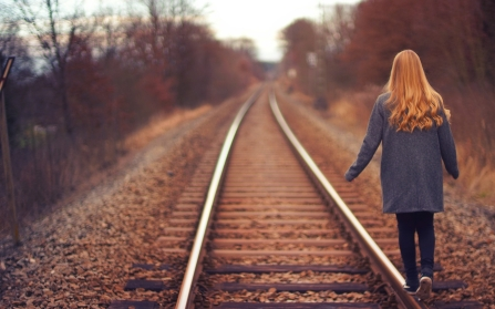 walk - railway line