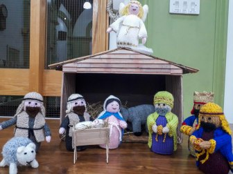 2018-12-19 Knitted Nativity Scene