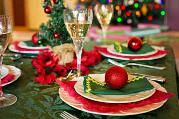 Xmas food and drink