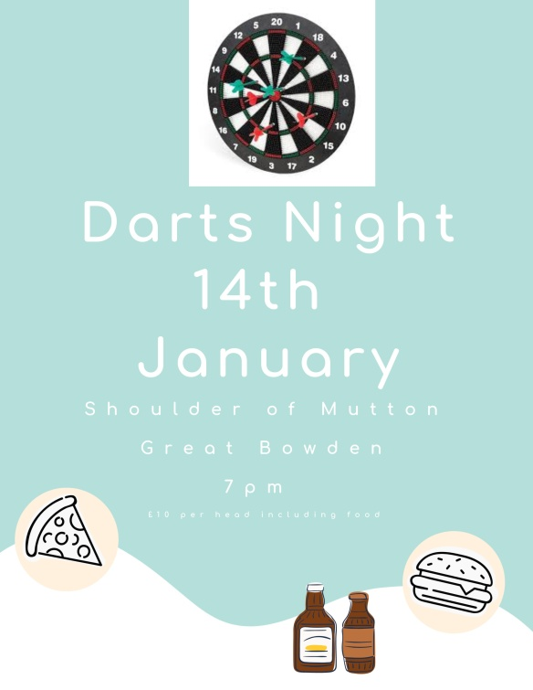 Darts evening Jan