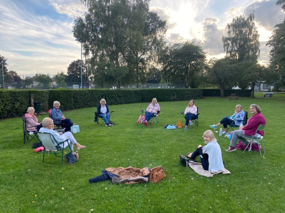Picnic in the park Aug 2020