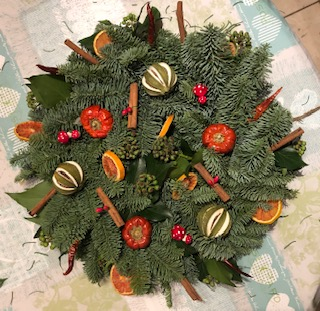 December Wreath Making